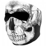 "Μάσκα full neoprene ""SkuLL"""